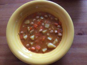 BLW recept - Cizrnový guláš
