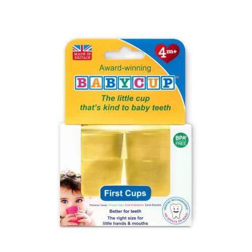 Kelímek pro batolata Babycup - žlutý